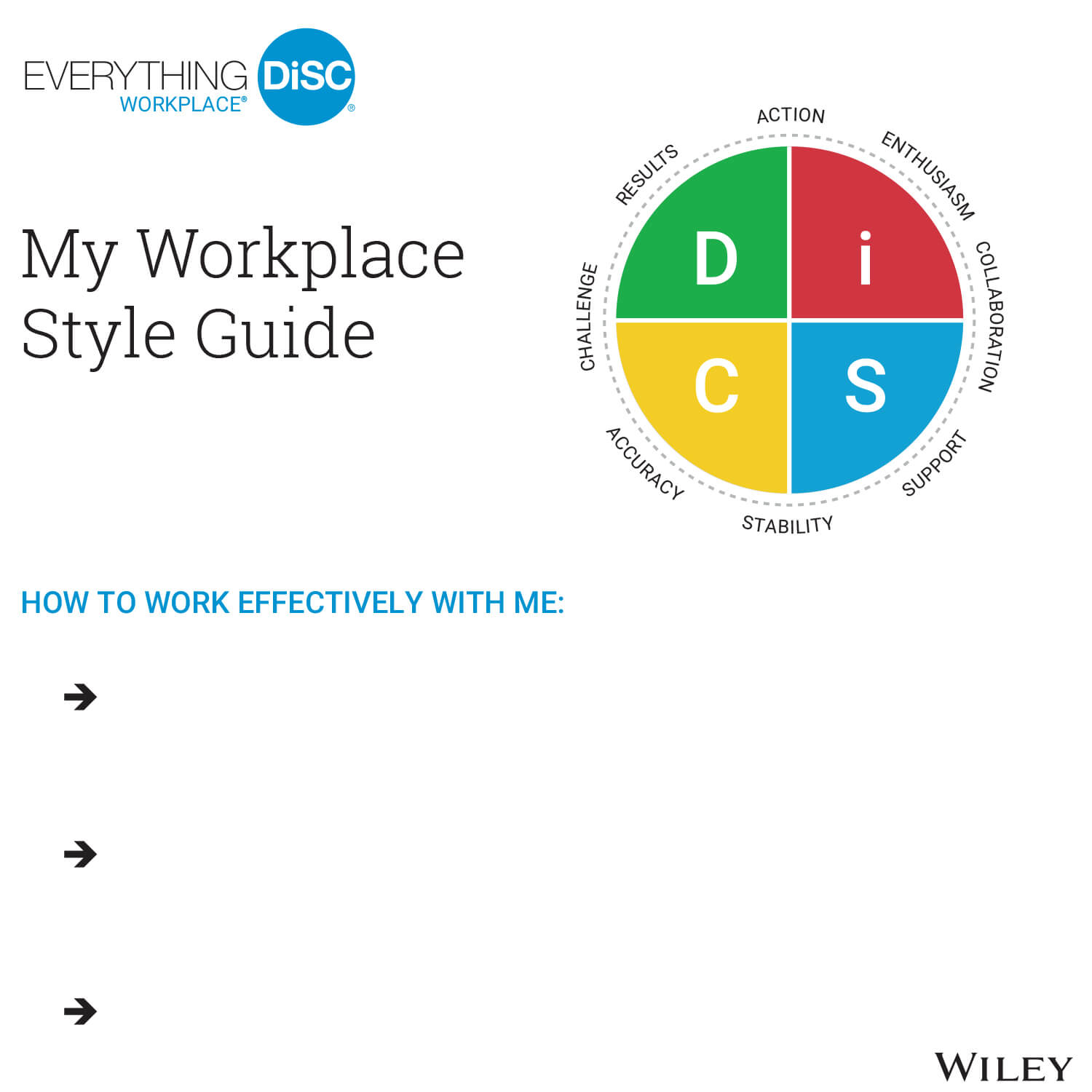Everything DiSC My Style Guide